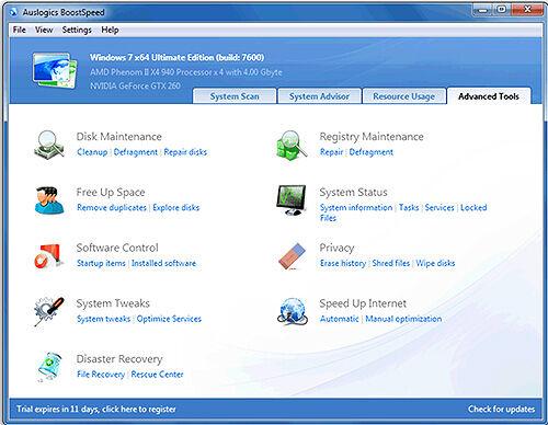 Maksimalkan Performa PC Dengan Auslogics BoostSpeed 7 1