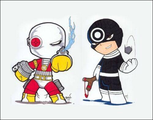 Karakter Ds Vs Marvel 25