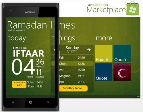 2 Aplikasi Windows Phone Untuk Melengkapi Hari Ramadan