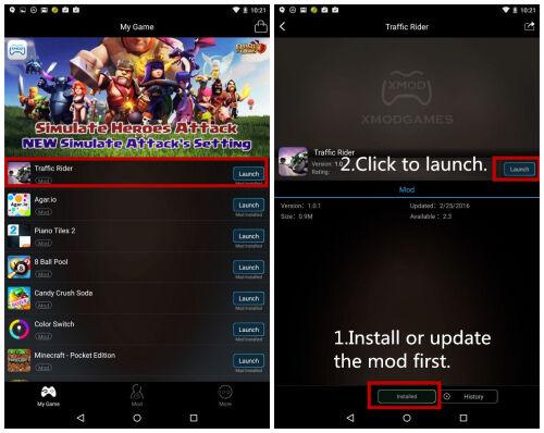Mod Traffic Rider Android 1