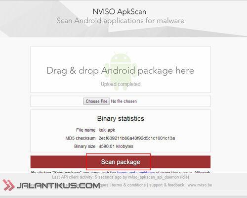 Cara Deteksi Virus Di File APK Android 3