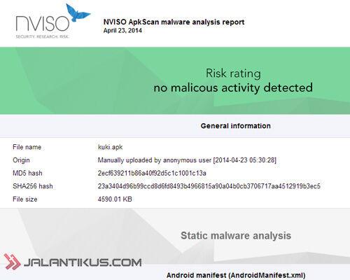 Cara Deteksi Virus Di File APK Android 5