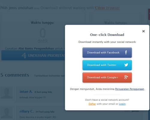 Cara Mudah Download Lagu Cepat Dan Bebas Iklan 4