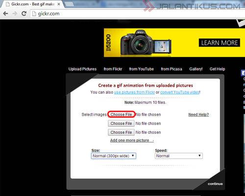 Cara Mudah Membuat Gambar Gif Tanpa Software 2