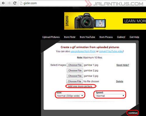 Cara Mudah Membuat Gambar Gif Tanpa Software 3