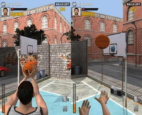 Game Sport Android Real Basketball