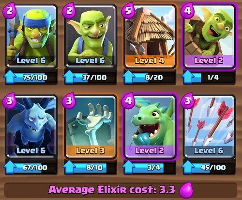 Battle Deck Level 4 Terbaik Clash Royale 2