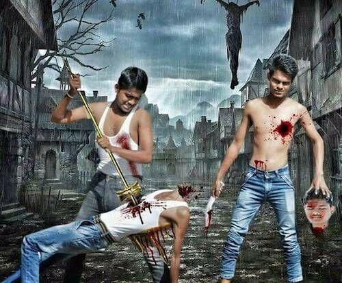 Gambar Photoshop Gagal Orang India 17