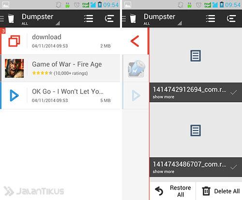 Cara Mudah Membuat Recycle Bin Di Android3