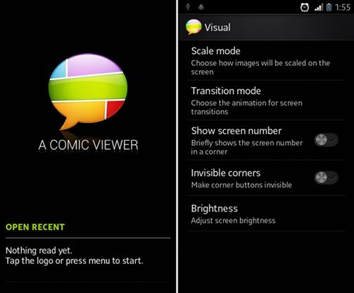Aplikasi Android A Comic Viewer