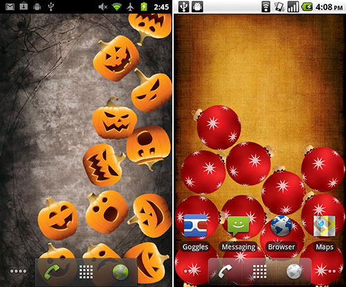 Halloween Live Wallpaper 1