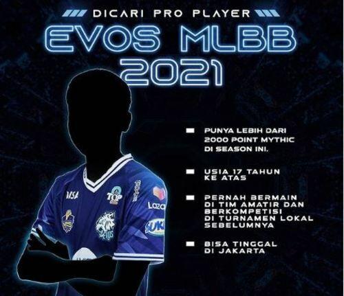 EVOS Job 47957