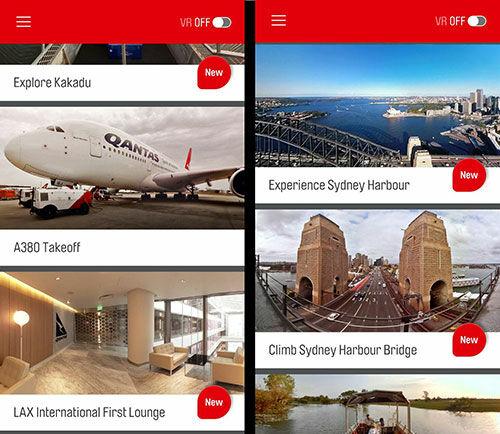 Ilustrasi Ui Qantas Vr
