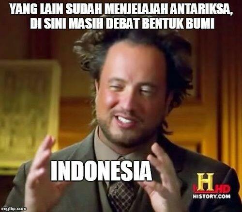 Meme Bumi Datar 1