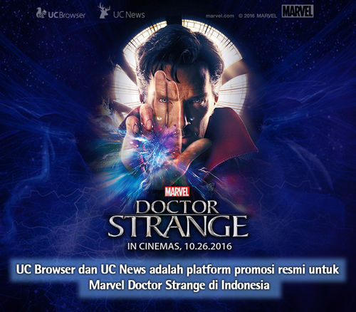 Ucweb Marvel Kerjasama Doctor Strange Indonesia