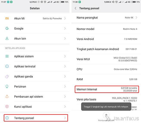 Cara Memperkuat Sinyal 4g Di Smartphone Xiaomi Tanpa Aplikasi