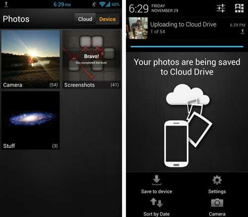 Upload Foto Otomatis Dari Android Amazon