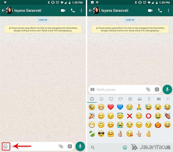 Cara Bikin Emoji Bergerak Di Whatsapp Chat Makin Seru Jalantikuscom
