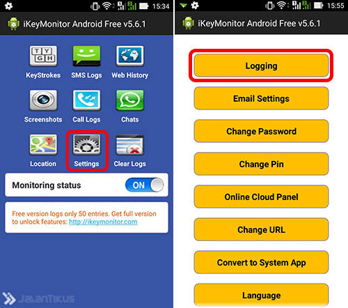 Keylogger Android 2a