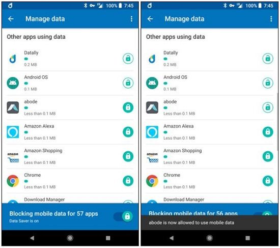 Datally by Google (Android 5.0+)
