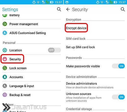 Hapus Data Android 2