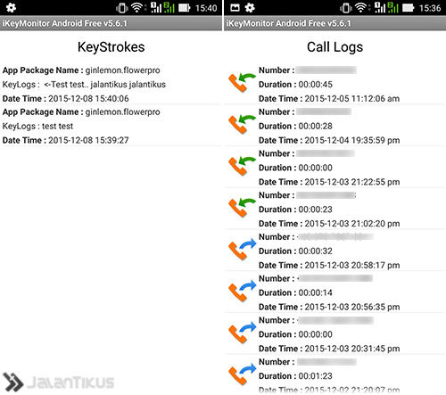 Keylogger Android 4
