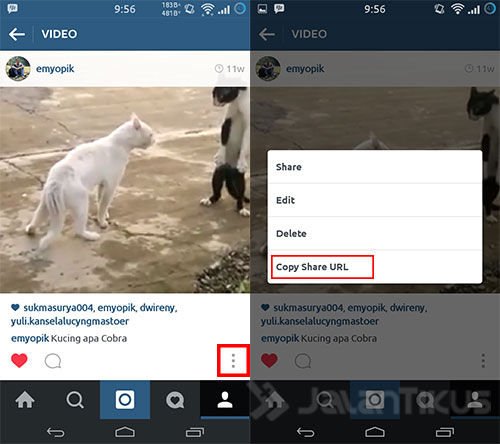 Cara Download Video Di Instagram 1