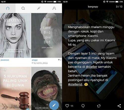 Steller Vs Instagram
