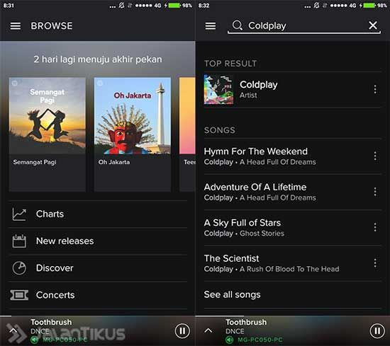 cara download spotify premium gratis