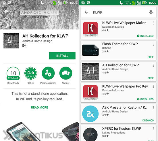 Cara Membuat Live Wallpaper Android