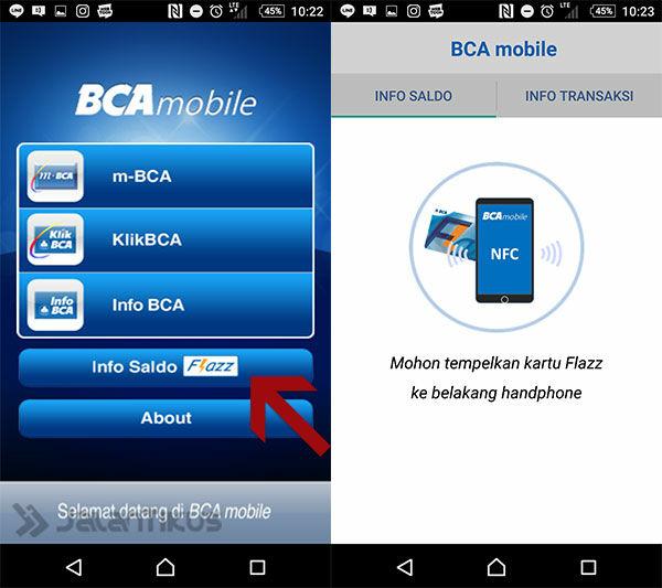 Mudah Begini Cara Cek Sisa Saldo Flazz Bca Di Android Jalantikus Com