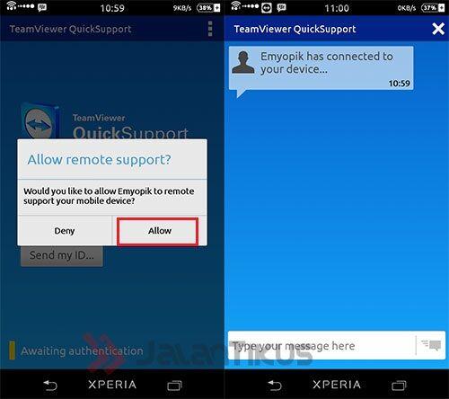 Cara Mengendalikan Smartphone Android Dari Komputer 3