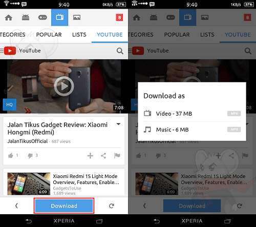 Cara Mudah Download Video Youtube Dengan Snappea 2