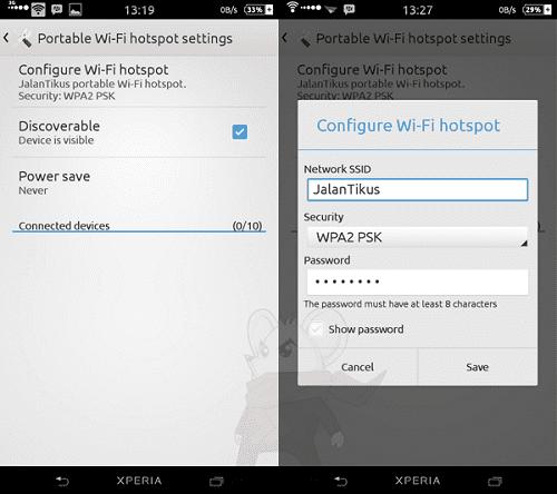 Cara Ubah Android Menjadi Wifi Hotspot Portable 3
