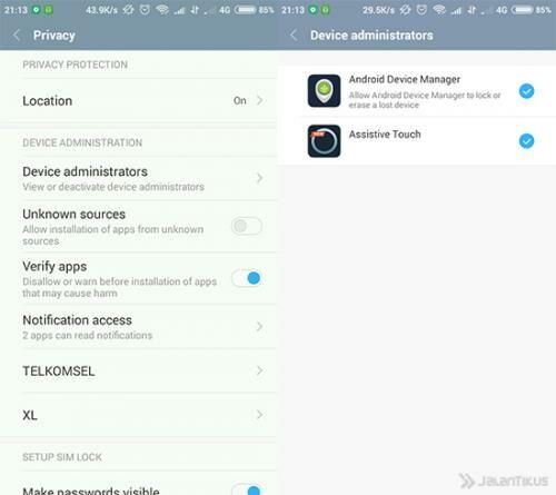 Cara Menghapus Aplikasi Android 2