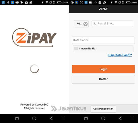 dapat pulsa gratis dari aplikasi zipay 0