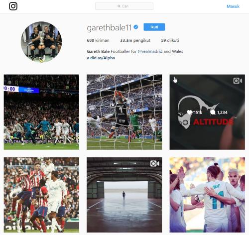 Pemain Sepakbola Followers Terbanyak 6 72631