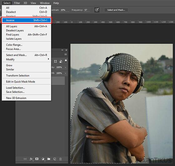 Langkah 5 - Cara Mengganti Background Foto
