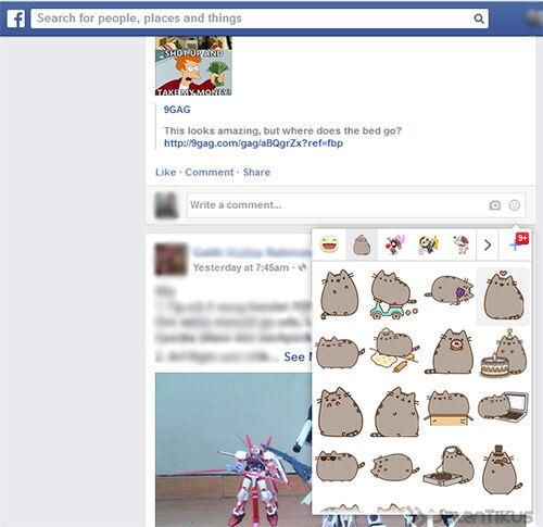 Comment Di Facebook Sekarang Bisa Pakai Sticker 2