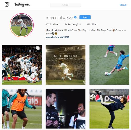 Pemain Sepakbola Followers Terbanyak 10 127e5