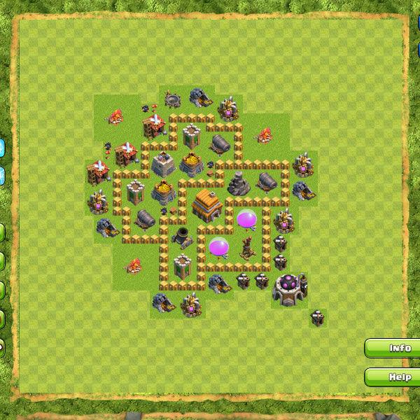 Gambar Base Coc Th 5 Terkuat 2
