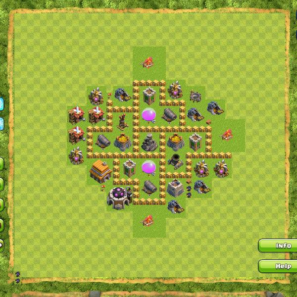 Formasi Base Coc Th 5 Terkuat 11
