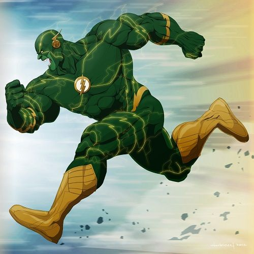 Karakter Marvel Fusion Dengan Dc 20