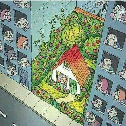 Ilustrasi Mencerminkan Kehidupan Manusia Saat Ini 12