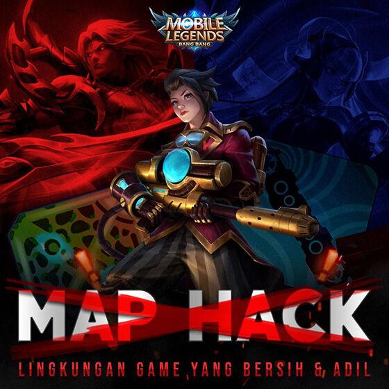Pakai Cheat Hack Map Mobile Legends? Auto Report & Ban