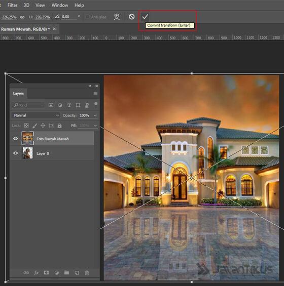 Langkah 8 - Cara Mengganti Background Foto