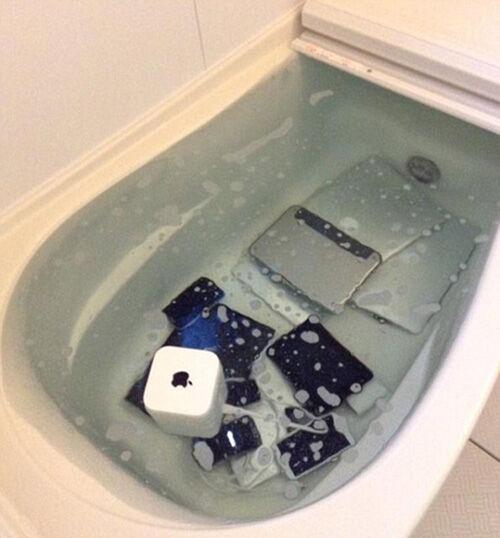 Apple Bath Cheater 1