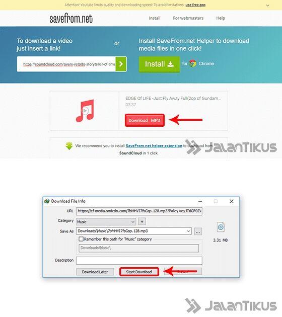 Cara Download Lagu di SoundCloud (2)