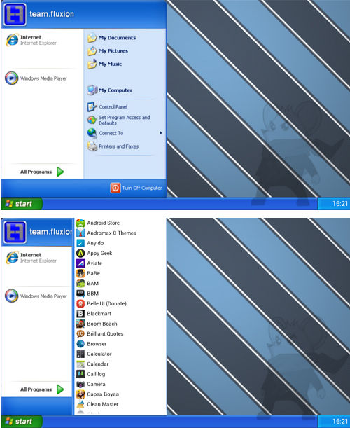 Windows Xp Android 2