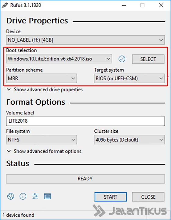 Cara Pakai Rufus, Bisa Install Windows 10 Modal Flashdisk
